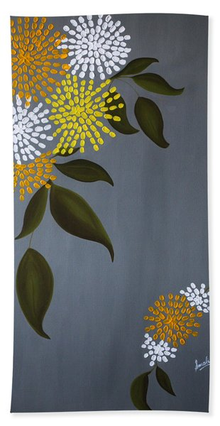 The Delicacy Of Life Bath Towel