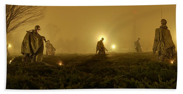 The Fog Of War #1 Bath Towel