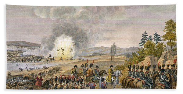 The French Retreat After The Battle Bath Towel