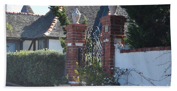 The Gated Castle Bath Towel