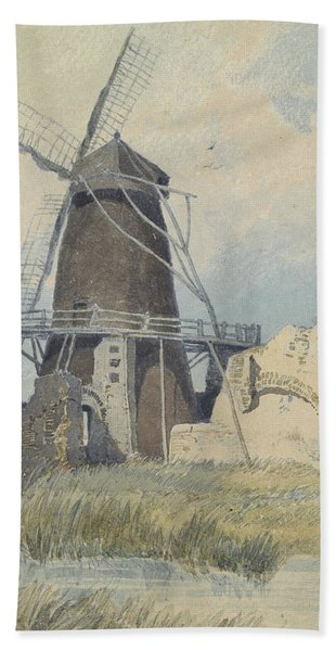 The Mill St Benet's Abbey Hand Towel