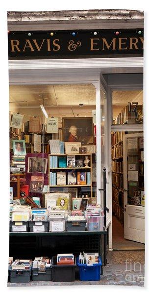 The Old Bookshop Bath Towel