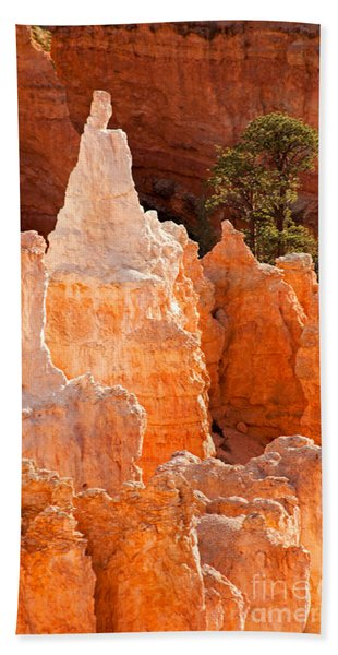 The Pope Sunrise Point Bryce Canyon National Park Bath Towel