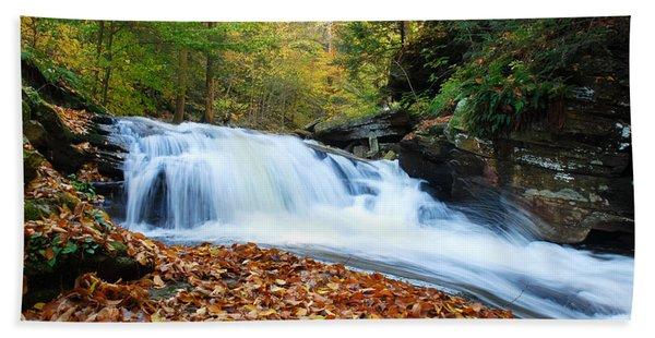 The Rushing Waterfall Hand Towel