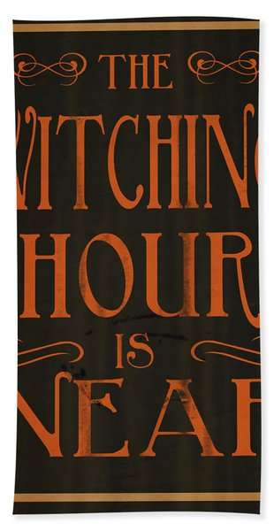 The Witching Hour Hand Towel