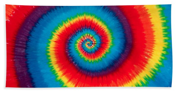Tie Dye Bath Towel