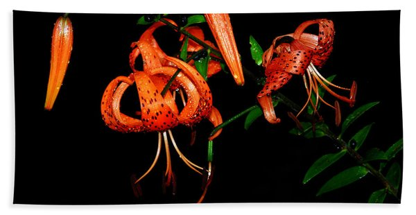 Tiger Lily Hand Towel