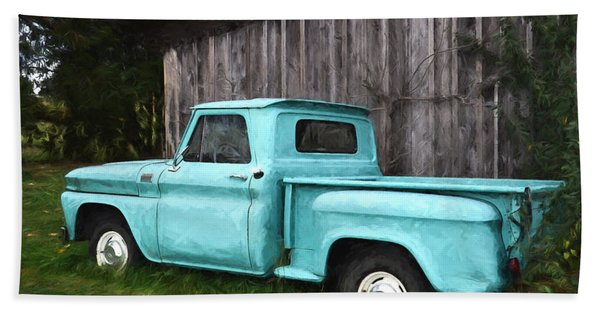To Be Country - Vintage Vehicle Art Bath Towel