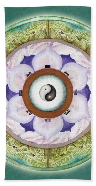 Tranquility Mandala Hand Towel