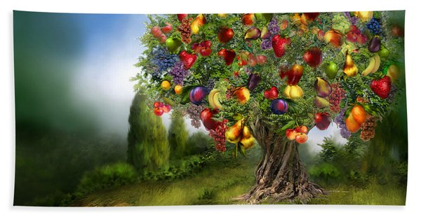 Tree Of Abundance Hand Towel