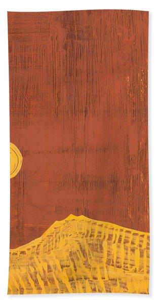 Tres Orejas Original Painting Bath Towel