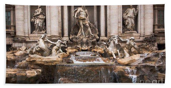 Trevi Fountain Hand Towel
