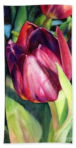 Tulip Delight Bath Towel