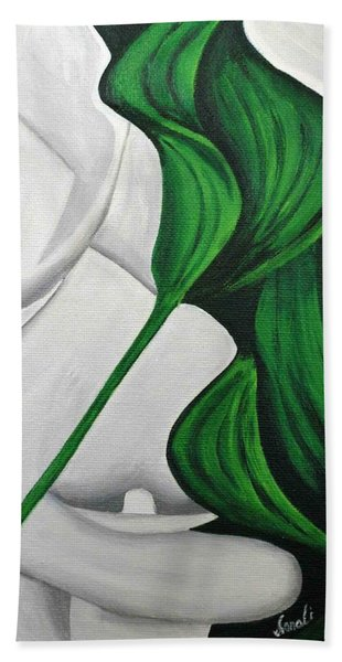 Tulips 1 Bath Towel