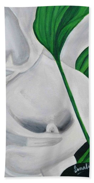 Tulips 2 Bath Towel