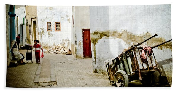Tunisian Girl Hand Towel