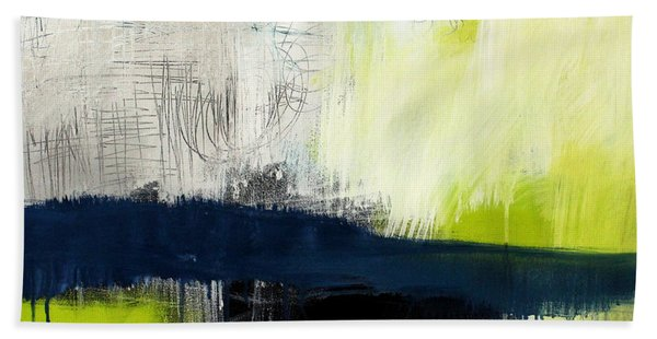 Turning Point - Contemporary Abstract Painting Bath Towel