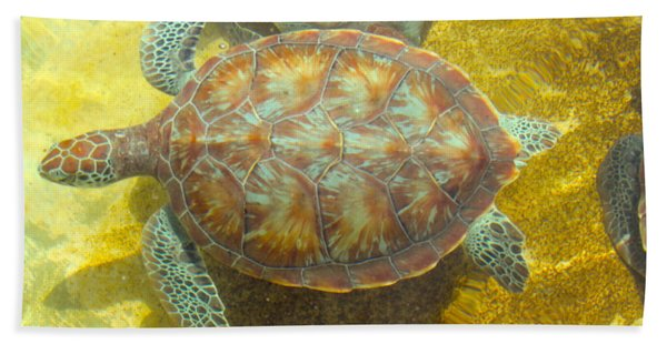 Turtle Day Hand Towel
