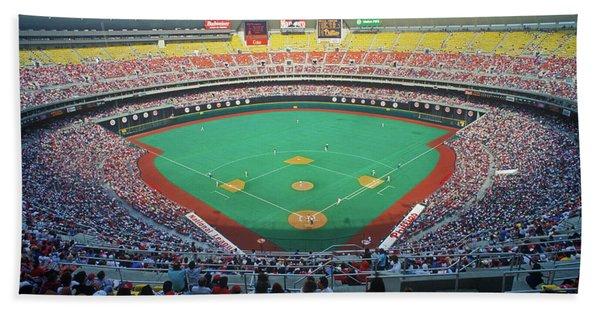 Veterans Stadium During Major League Hand Towel