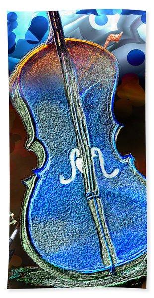 Violin Solo Hand Towel
