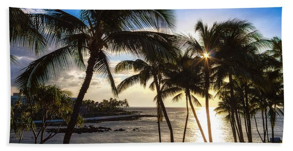 Waikoloa Sunset Bath Towel