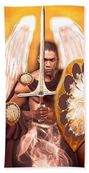 Warrior Angel Hand Towel