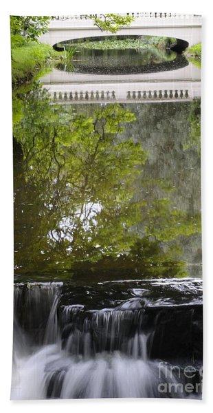 Water Reflection Bath Towel