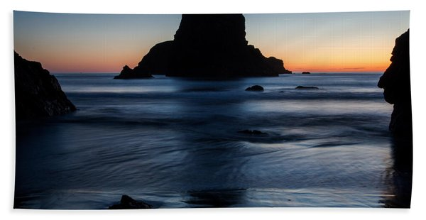 Whaleshead Beach Sunset Bath Towel