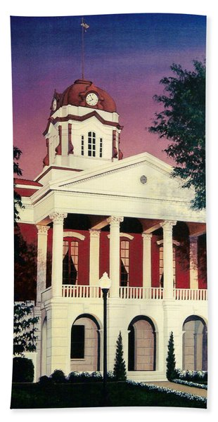 White County Courthouse Hand Towel