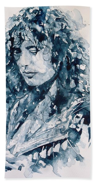Whole Lotta Love Jimmy Page Hand Towel