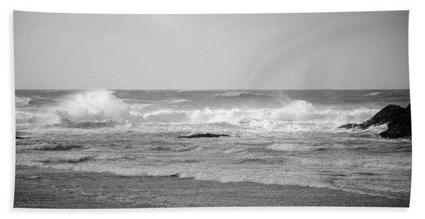 Wind Blown Waves Tofino Hand Towel