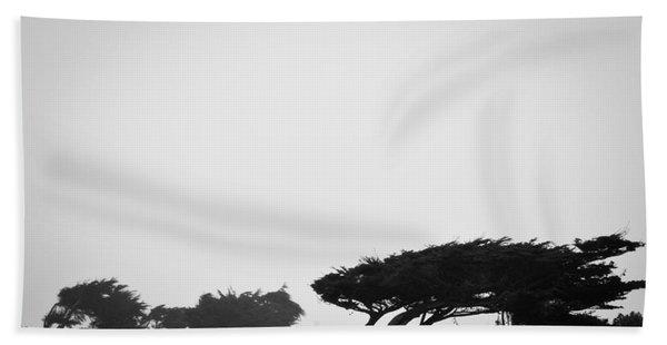 Windswept Shoreline Hand Towel