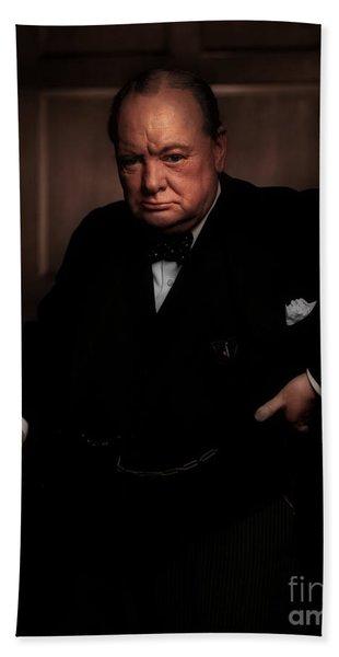 Winston Churchill Hand Towel