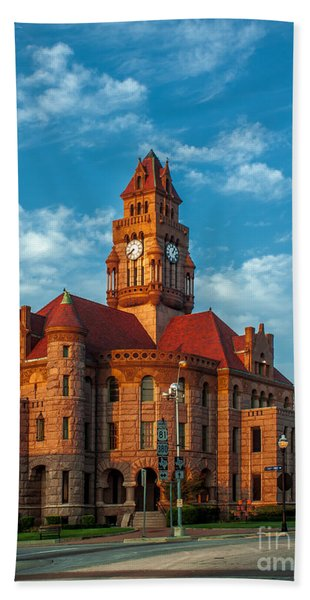 Wise County Courthouse Hand Towel