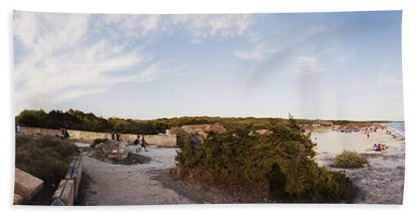 Access To The Beach Of Es Trenc Hand Towel