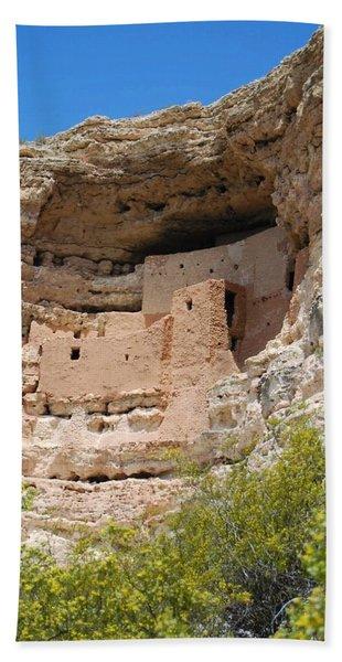 Arizona Cliff Dwellings Hand Towel