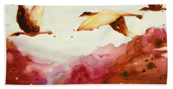 Autumn Flight Hand Towel