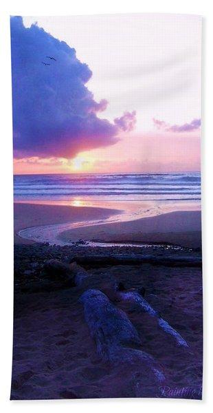 Beach Time Bath Towel