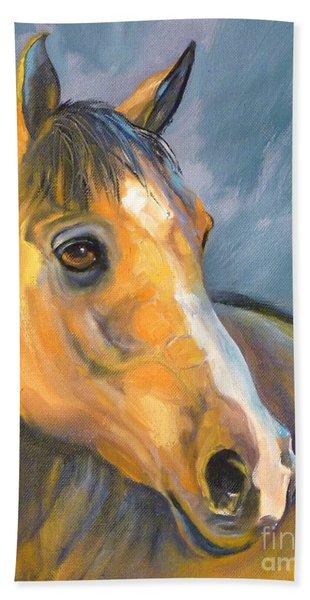 Buckskin Sport Horse Hand Towel
