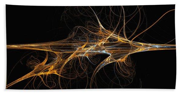 Celebration Of Impulses - Abstract Art Hand Towel
