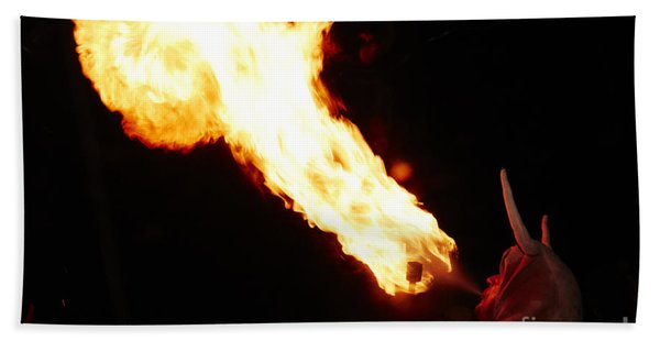 Fire Axe Hand Towel