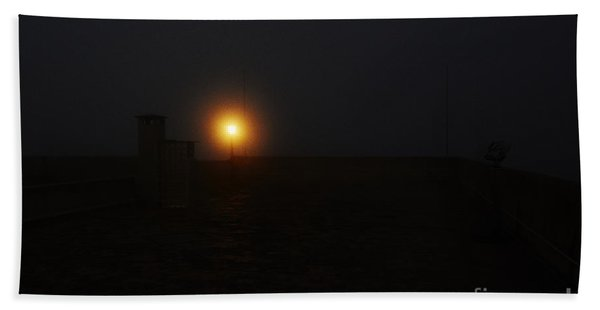 Fog In San Salvador Hand Towel
