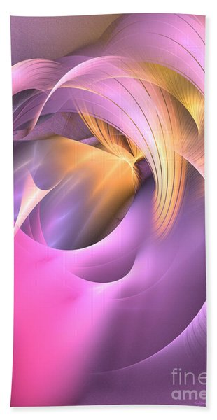 Cornu Copiae - Abstract Art Bath Towel