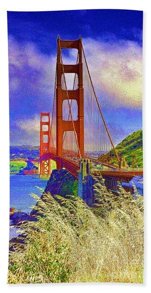 Golden Gate Bridge - 6 Bath Towel