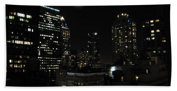 Gotham City Bath Towel