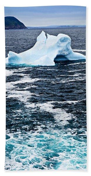 Melting Iceberg Bath Towel