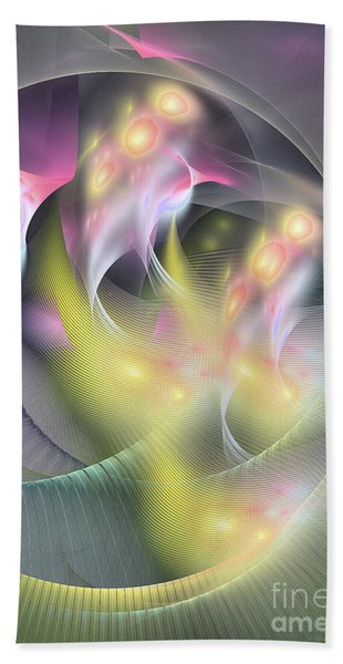 Memoria Futurorum -abstract Art Bath Towel