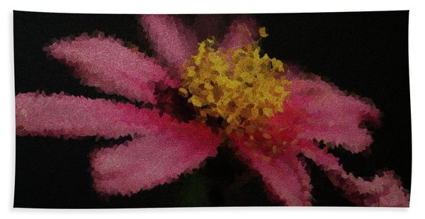 Midnight Bloom Hand Towel