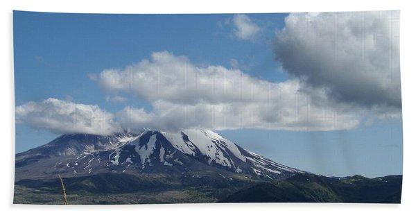 Mt St Helens And Castle Lake Bath Towel