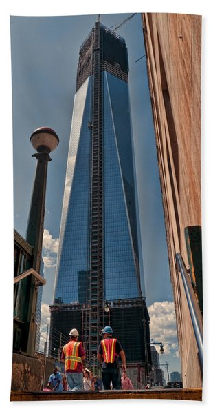 One Wtc First Look Bath Towel